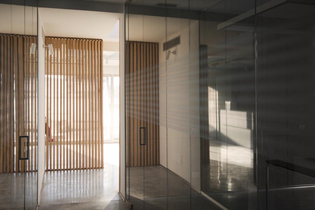 Partizioni vetrate