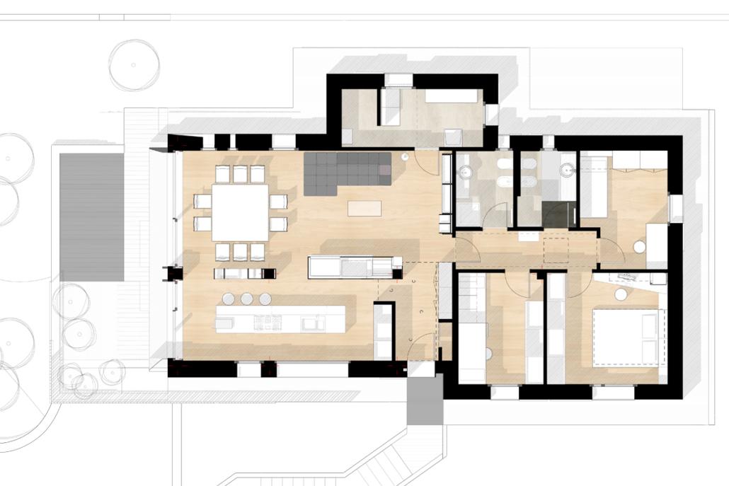 Casa CG pianta