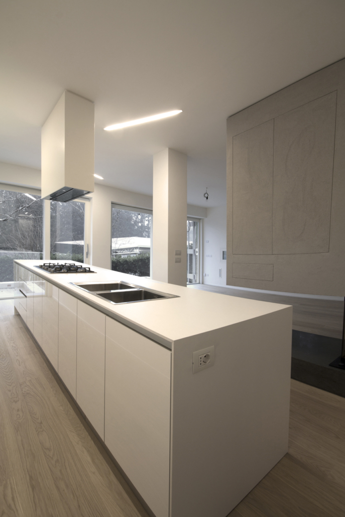 Casa CG isola cucina