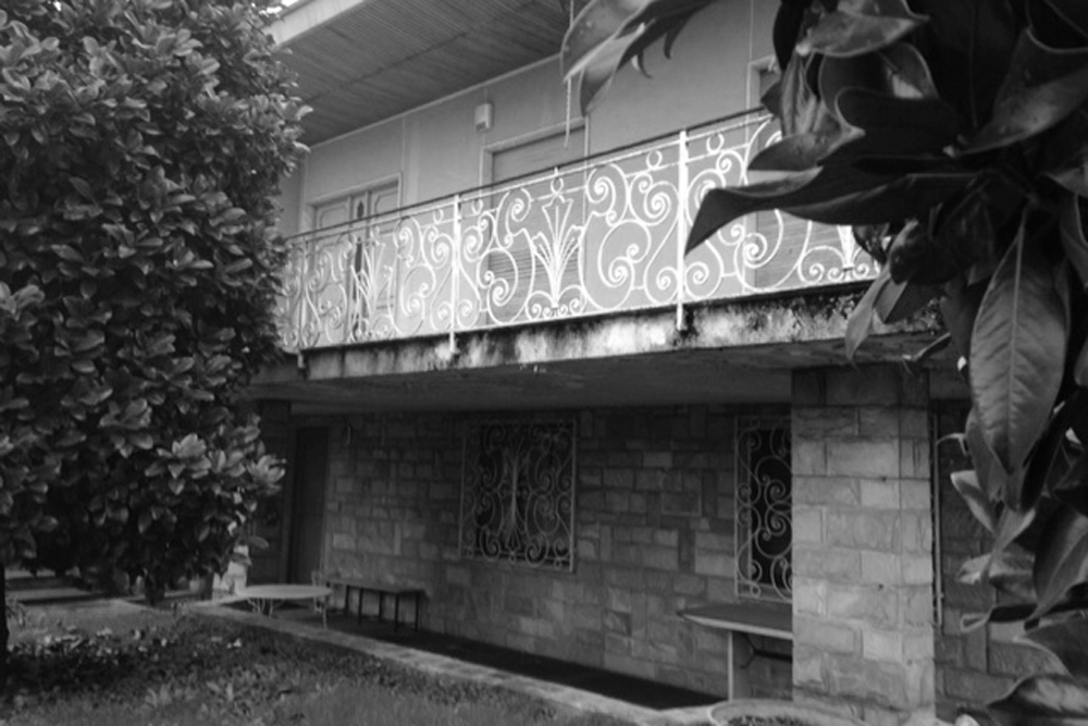 Casa AO prima della ristrutturazione