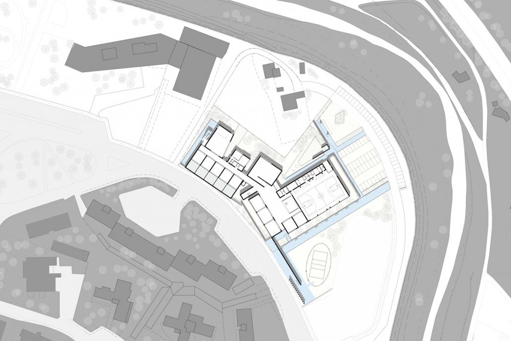 Planimetria del complesso scolastico